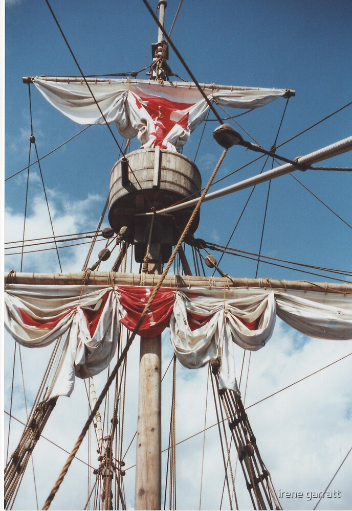 A Spanish Galleon by irene garratt