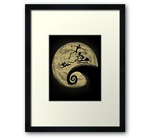 The Nightmare Before Grinchmas Framed Print