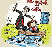 The Doctor and Clara by Alex Pawlicki
