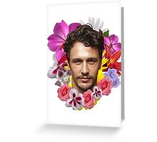 James Franco Greeting Card