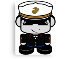 Marine Hero'bot 2.0 Canvas Print