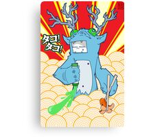 KID9 - Tako Thief Canvas Print