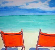Beach art by gillsart