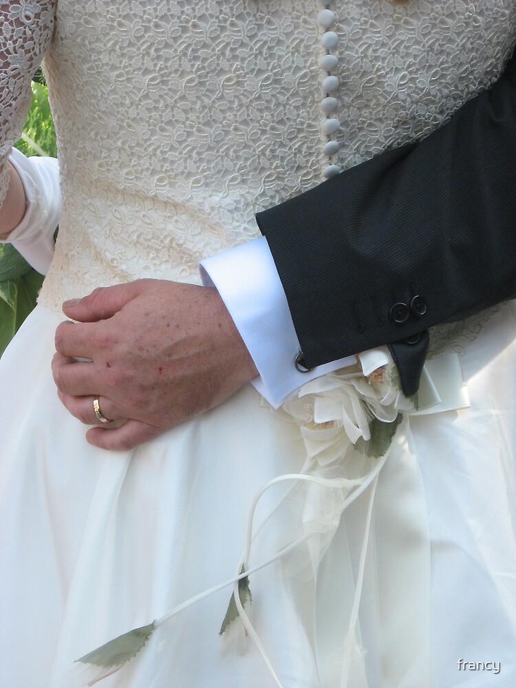 wedding day by francy