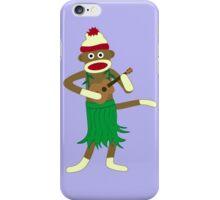 Sock Monkey Ukulele iPhone Case/Skin