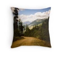 Canadian Lookout Road Throw Pillow
