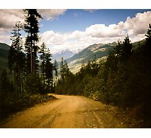 Canadian Lookout Road Photographic Print