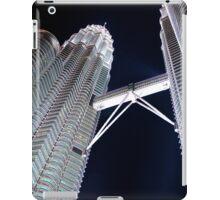Silver Glow at Night IV - Kuala Lumpur, Malaysia. iPad Case/Skin