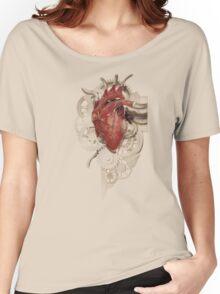 Heart and Clockwork Women's Relaxed Fit T-Shirt