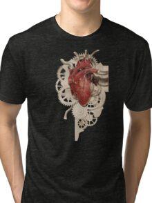 Heart and Clockwork Tri-blend T-Shirt