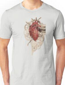 Heart and Clockwork Unisex T-Shirt