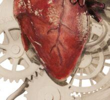 Heart and Clockwork Sticker