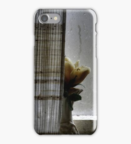 26.11.2014: Plastic Flower at the Window II iPhone Case/Skin