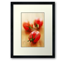 Small tomatoes Framed Print