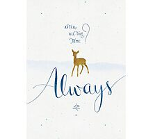 "Harry Potter ""Always"" Photographic Print"