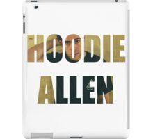 HOODIE ALLEN iPad Case/Skin