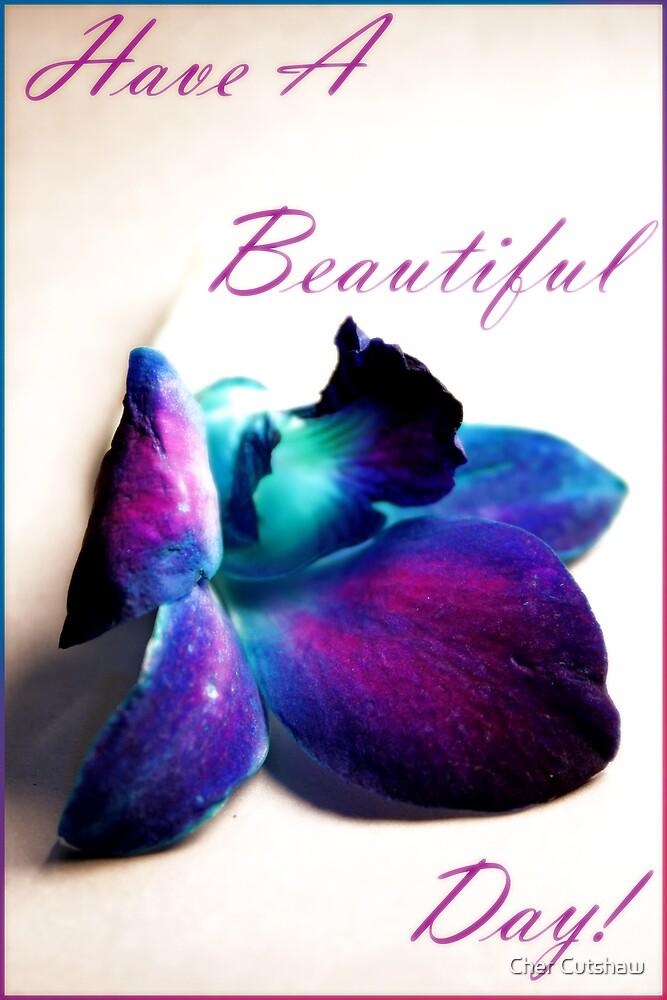 Have a Beautiful Day by Cher Cutshaw