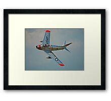 F-86 Sabre Framed Print