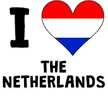 I Heart The Netherlands by kwg2200
