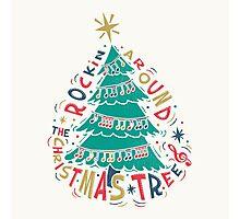 Rockin Christmas Photographic Print