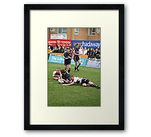 Gateshead Thunder 2007 - Jonny Scott Framed Print