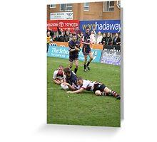 Gateshead Thunder 2007 - Jonny Scott Greeting Card