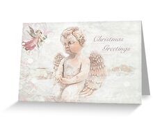"""The Littlest Angel """"Christmas Greetings"""" ~ Greeting Card Greeting Card"""