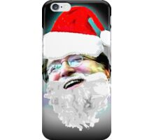 Merry Christmas GabeN (Glow) iPhone Case/Skin