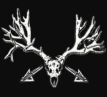 Monster mule deer skull 2 by saltypro