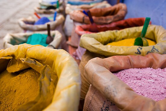 Colours of Morroco by Craig Scarr