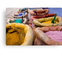 Colours of Morroco Canvas Print