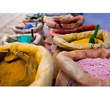 Colours of Morroco Photographic Print