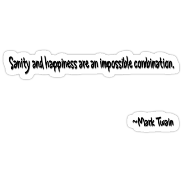 sanity & happiness by regina
