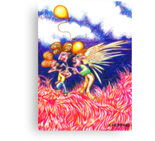 Carnival Abduction Canvas Print
