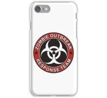 ZOMBIE RESPONSE TEAM 3 color iPhone Case/Skin