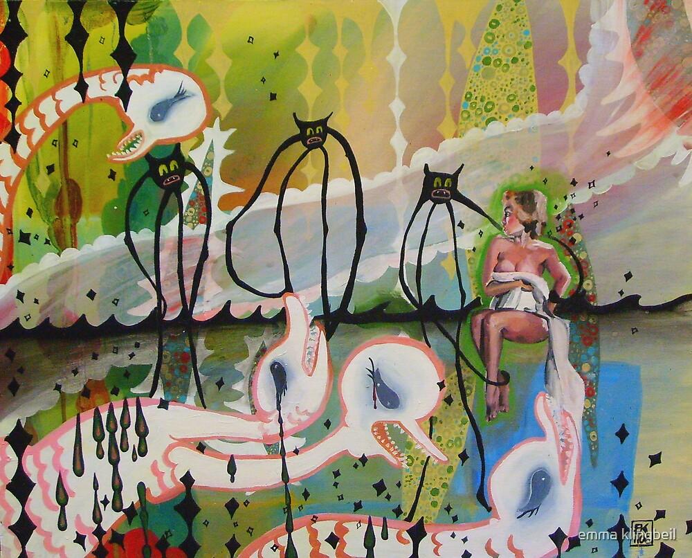 White Hydra by emma klingbeil