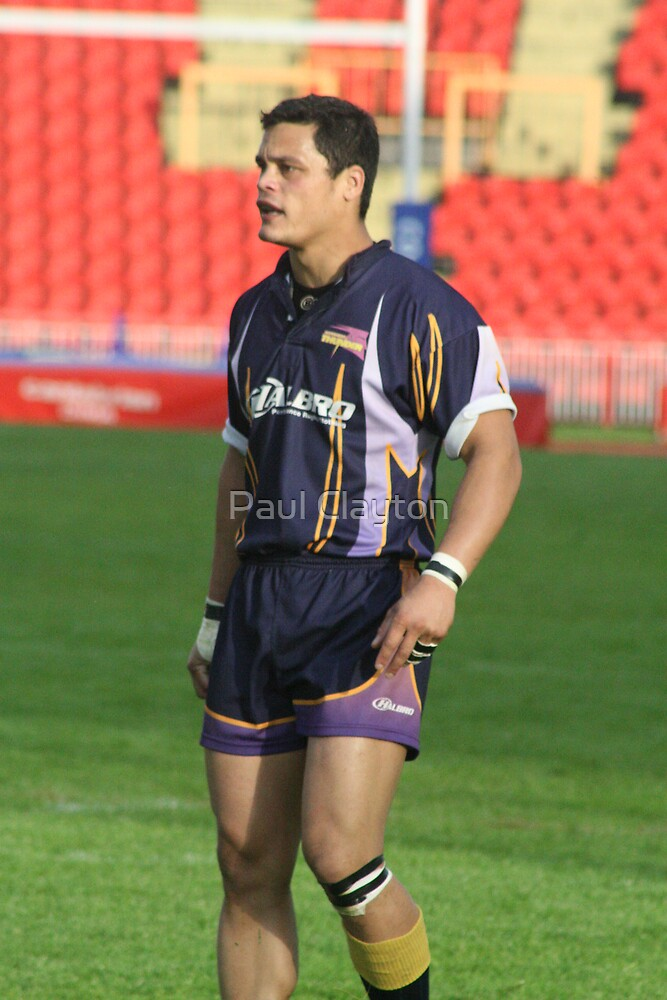 Gateshead Thunder 2007 - Odell Harris by Paul Clayton