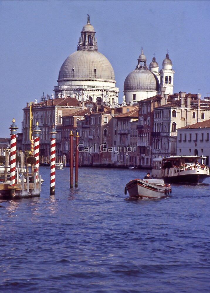 Venice - A Postcard  by Carl Gaynor