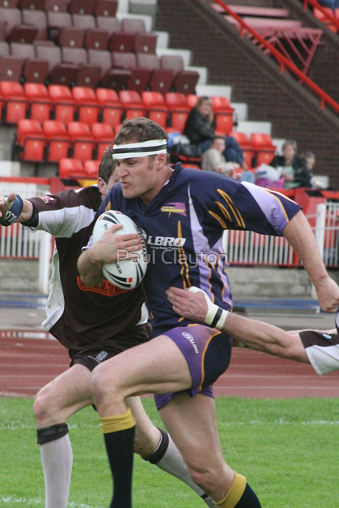 Gateshead Thunder 2007 - Pat Williamson by Paul Clayton