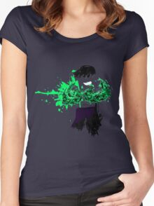 Green Death  Women's Fitted Scoop T-Shirt