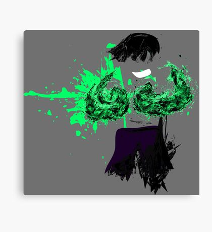 Green Death  Canvas Print