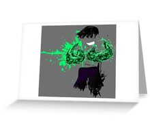 Green Death  Greeting Card