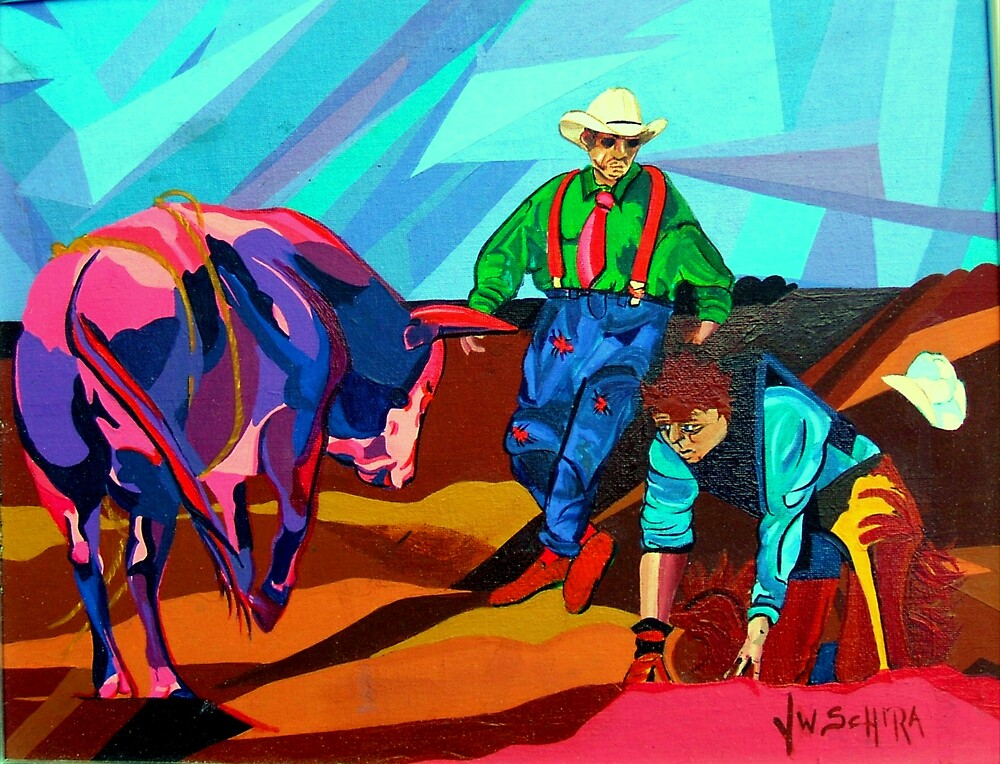 Rodeo Clown by Jamie Winter-Schira