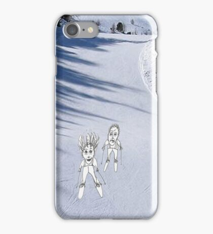 Skiing iPhone Case/Skin