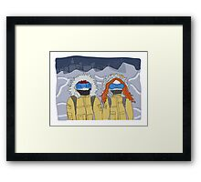 the day after tomorrow Framed Print