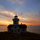 Patos Island Lighthouse by Rhonda R Clements