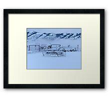 Winter's Past Framed Print