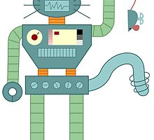 Robot Cat by pounddesigns