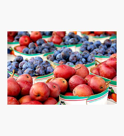 Fruits for sale Photographic Print