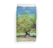 The Tropical Tree Duvet Cover